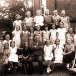Evangelische Volksschule Eichholz, Schülerinnen um 1935