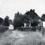 Geisecke, Ortseingang am Brauck um 1955