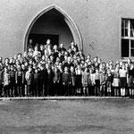 Volksschule Geisecke um 1947