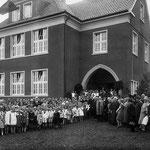 Die Einweihung der neuen Schule in Geisecke 1929