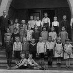 Ev. Volksschule Geisecke, Klassenfoto um 1929