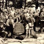 Ausflug der Volksschule Geisecke um 1960