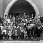 Kathl. Volksschule Geisecke um 1929