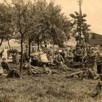 Nach dem Brand bei Böhmer 1914/15 [Ecke Unnaer Str. / Zum Wellenbad]