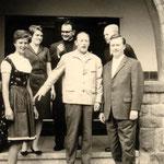 Die Lehrer an der Volksschule Geisecke um 1965
