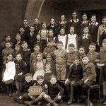 Ev. Volksschule Geisecke um 1937