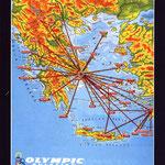 Inlandsnetz von Olympic Aviation/Courtesy: Olympic Aviation