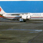 Makung Airlines BAe 146-300/Postkarte