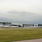 Sechs MD-80 kann man hier erspähen!/Courtesy: Andreas Hartmann