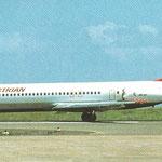 Die MD-87 OE-LMK/Courtesy: Austrian Airlines