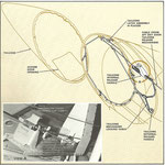 Grafik, Blickwinkel grob aus Richtung oberhalb des rechten Triebwerks/Courtesy: McDonnell Douglas