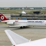 Die TC-JAL in Frankfurt/Courtesy: Sandor van Maaren
