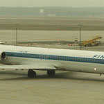 Die erste MD-80 der Finnair, hier schon mit neuem Heckkonus/Privatsammlung