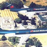Die Fokker 100 und Fokker 70 ersetzten die DC-9/Courtesy: Fokker