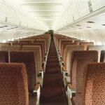 Kabinenaufnahme einer Austral MD-81,1981/Courtesy: MCDonnell Douglas
