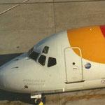 Cockpitsektion einer MD-87/Courtesy: Lukas Vetter