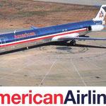 American Airlines verwendete über Jahre hinweg ihre MD-80 auch auf längeren Mittelstrecken/Courtesy: American Airlines