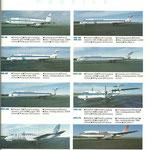 Flottenübersicht 1989/Courtesy: Finnair