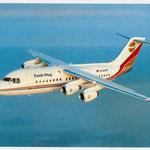 Contiflug BAe 146-200/Postkarte