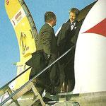 Vorderer Einstieg der OE-LDV/Courtesy: Austrian Airlines