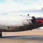 Ein Hushkit für die MD-80, man beachte u.a. den sichtbaren Mixer am Triebwerksaustritt/Courtesy: Goodrich