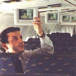 Monitore an Bord der MD-87 von Iberia/Courtesy: McDonnell Douglas
