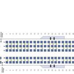 Aktueller Sitzplan/Courtesy: American Airlines