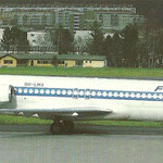 MD-87 der Finnair/Postkarte
