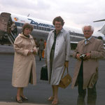 Aviaco DC-9-30 im Hintergrund, Aufnahme Anfang der 1980er/Sammlung Klaus Schmidt