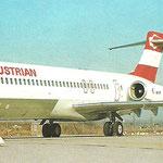 Wahrscheinlich nach ihrer Erstankunft in Wien aufgenommen/Courtesy: Austrian Airlines
