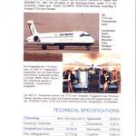 Von Olympic zugesendetes Infoblatt/Courtesy: Olympic Airways