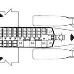 Einst verwendete Auslegung bei der MD-87 der Finnair/Courtesy: Finnair