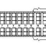 Sitzplan der Boeing 717 mit 115 Sitzplätzen/Courtesy: Blue1
