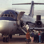 Boarding einer DC-9-14/Courtesy: British Midland