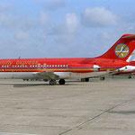 Die DC-9 I-TIAN fiel durch ihre farbliche Gestaltung auf/Courtesy: David van Maaren
