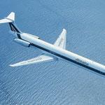 Auch Alitalia verwendete ihre MD-82 über Jahre hinweg auch auf längeren Strecken/Courtesy: Alitalia