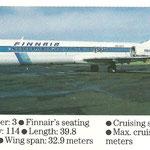 MD-87-Flotteninformationen/Courtesy: Finnair