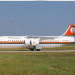 Meridiana BAe 146/Postkarte