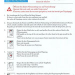"""""""Briefingcard"""" für Fluggäste/Austrian Airlines MD-80/Courtesy: Austrian Airlines"""