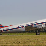 Die Douglas DC-3 PH-DDZ in Rotterdam/Courtesy: David van Maaren