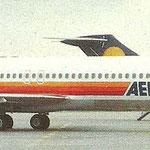 Die zweite MD-83 nach ihrer Erstankunft in Frankfurt/Courtesy: Aero Lloyd