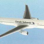 Airbus A330-300-Modell/Courtesy: Garuda Indonesia