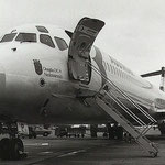 Vordere Bordtreppe einer MD-81 der Austrian Airlines/Courtesy: Austrian Airlines
