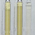 MD-81 mit 162 Sitzplätzen/Courtesy: SAS