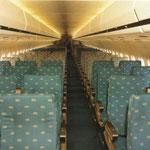 Kabine einer Super 80 von American Airlines, 1987/Courtesy: McDonnell Douglas