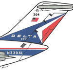 DC-9-14/Courtesy: Delta Air Lines