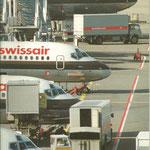 Swissair perfektionierten den Eindruck von Professionalität/Courtesy: Swissair