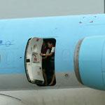 Hintere Servicetür einer MD-83 der Korean Air/Courtesy: ?