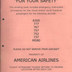 Courtesy: American Airlines