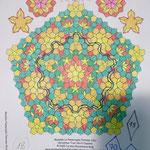 Mandala La Passacaglia Urlaubspostkarte